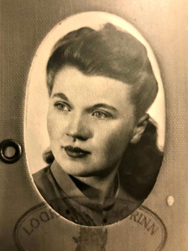 Grandma Soffia's passport photo